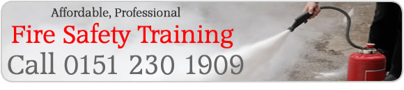 call 0151 230 1909 for fire safety training in Liverpool